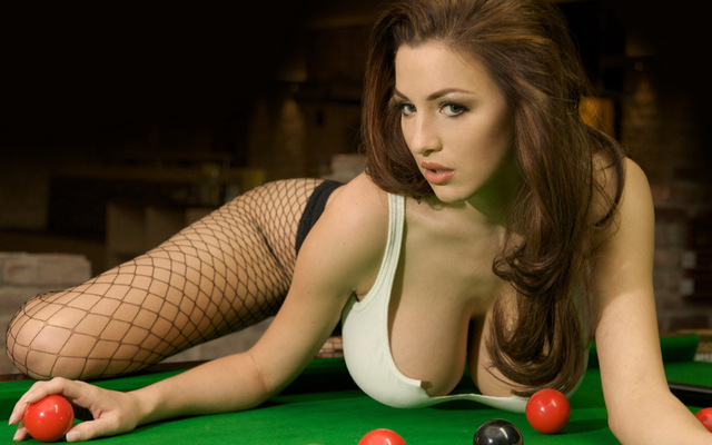 Snooker Babe P0128-HOT-SEXY-GIRL-Billiard-Sport-POSTER-Wall-Sticker-Home-Decor-Canvas-Printings-16x25inch.jpg_640x640