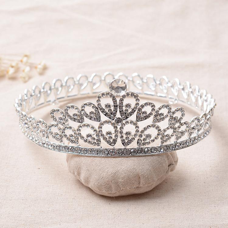 تيجان ملكية  امبراطورية فاخرة Elegant-Alloy-Rhinestones-Crystal-Full-Round-Wedding-Tiara-Bridal-Princess-Queen-Pageant-font-b-Royal-b