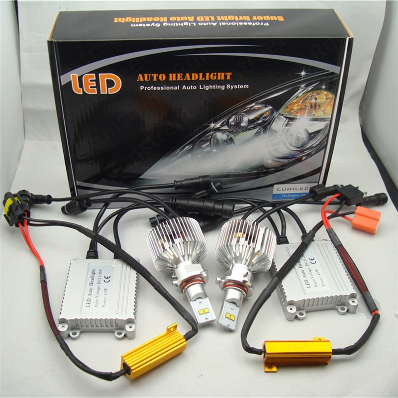 Quelles temperature de couleur sur nos Xénon? - réponse p.5 - Page 4 Runstreet-TM-H8-4300K-Warm-White-Canbus-LED-Headlight-Kit-Lumileds-LMZ-45W-4500lm-9000lm-Car