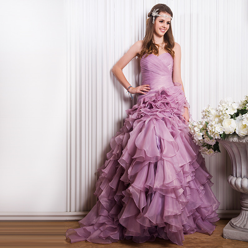 Dressing for wedding  - Page 2 European-American-Quinceanera-Dress-Fashion-New-2015-Summer-Women-Dress-font-b-Colorful-b-font-Strapless
