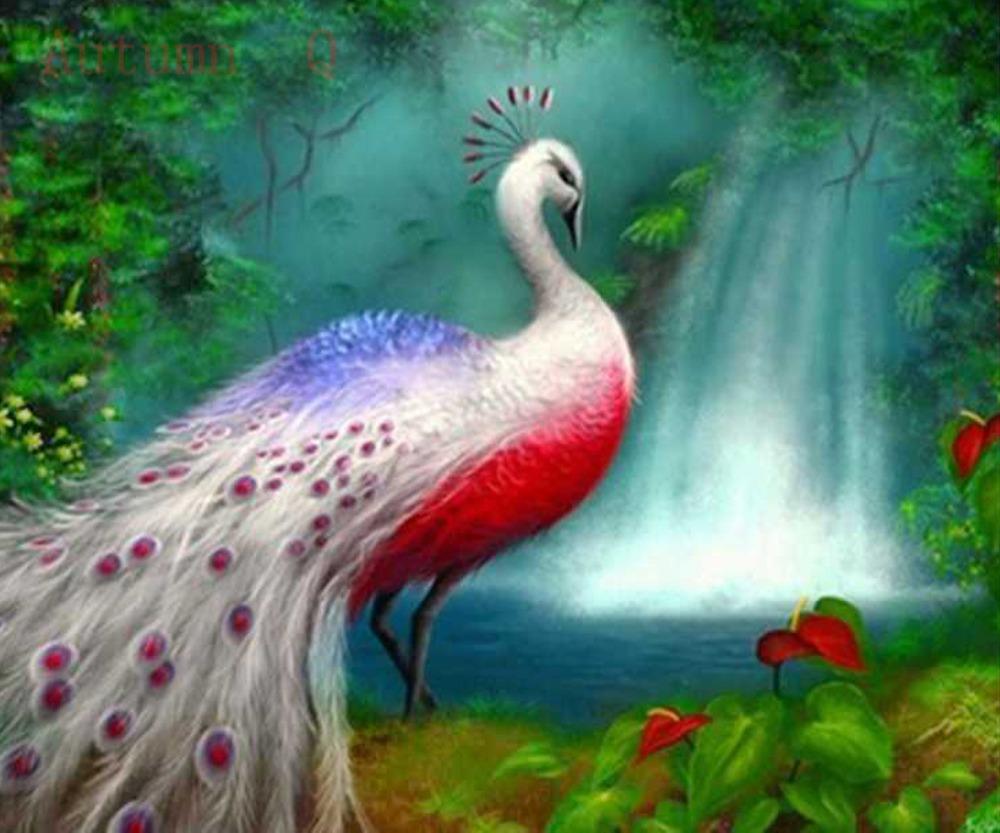 [MJ17] A la recherche d'Alpha - PRA-127 - LA FANTASTIQUE DIY-Diamonds-Mosaic-Kittens-Peacock-Embroidery-With-Diamonds-Animal-Diamond-Painting-Waterfall-Rhinestone-Rose-Cross-Stitch