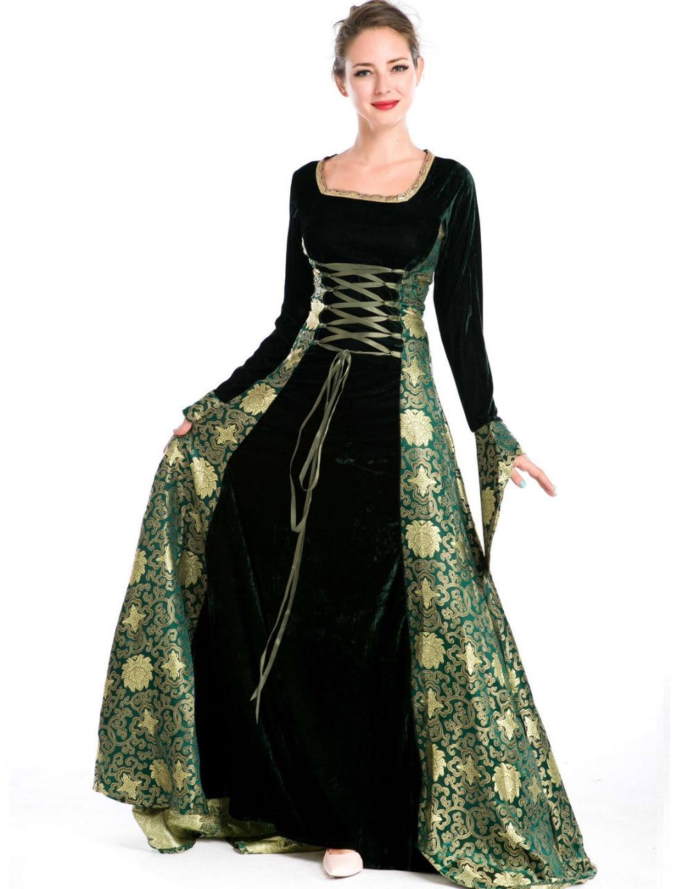 [Event] Festivités au Domaine Free-shipping-Hofadel-font-b-Renaissance-b-font-Medieval-Game-Green-Costume-Cosplay-Dress-font-b