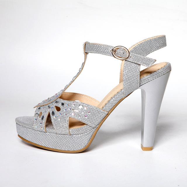 Estatura de las mujeres con tacones (high heels) 2015-New-summer-Diamond-veins-PU-rhinestone-design-gold-sliver-2-cm-women-platform-sandals-11.jpg_640x640