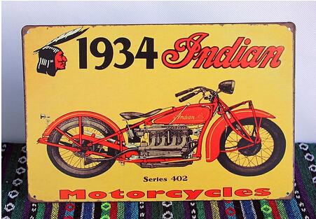 affiches anciennes ou pubs indian 1934-Indian-Motorcycles-Tin-font-b-Sign-b-font-font-b-Vintage-b-font-Painting-Plaque