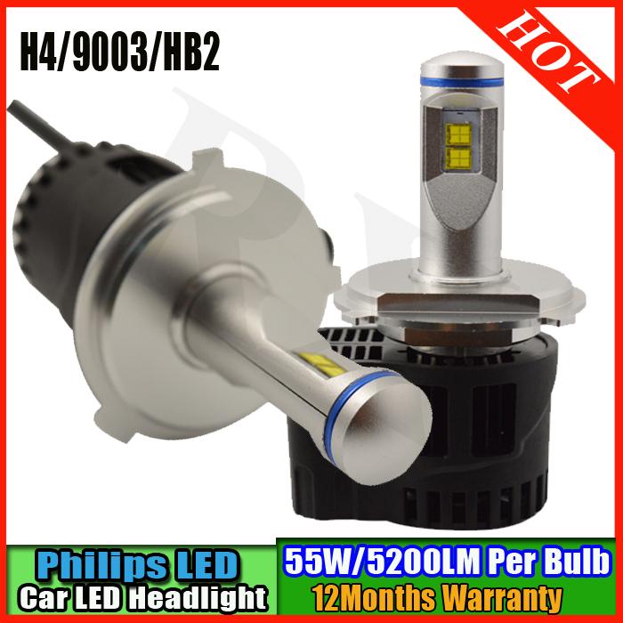 LED QUE ADAPTADOR ES H4,H7 O H11???? H4-9003-HB2-Car-LED-head-light-kit-P6-MZ-High-lumen10400LM-110W-Fog-Head-external