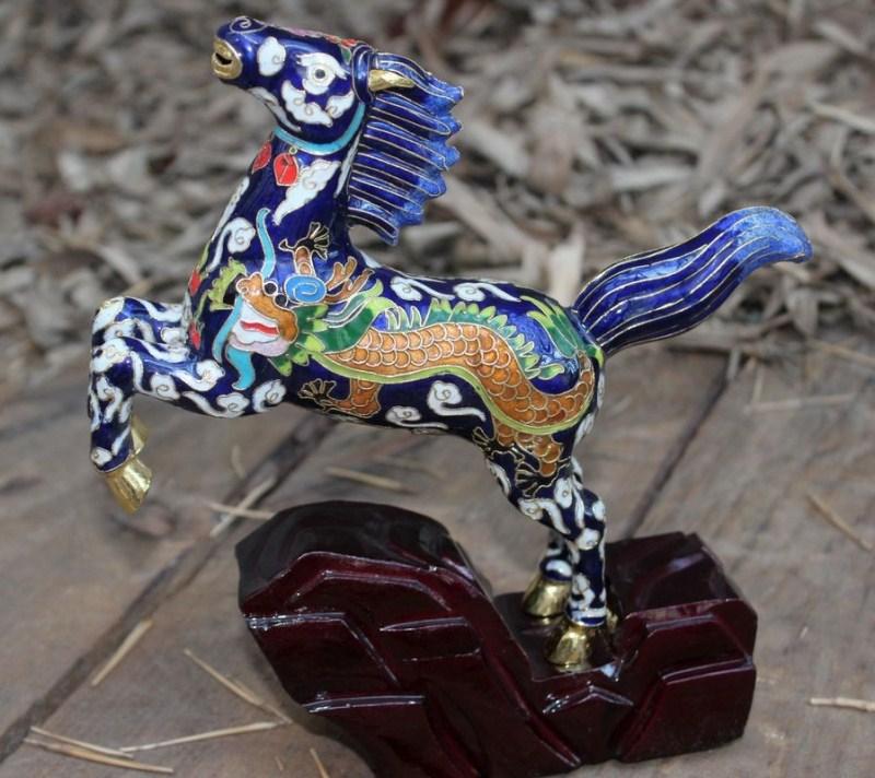 Cloisonne - tehnika dekoracije emajla - Page 4 Filigree-enamel-cloisonne-tengma-decoration-commercial-office-gifts-collection-cloisonne-font-b-copper-b-font-horse