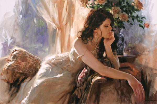 En pétard avec le temps.... Free-shipping-beautifll-flowers-women-canvas-prints-font-b-realist-b-font-font-b-figure-b