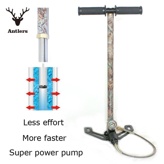 Compresseur spécial shadock NEW-4500PSI-Airgun-PCP-Pump-Paintball-gun-air-rifle-High-Pressure-Hand-Pump-include-Air-filter.jpg_640x640