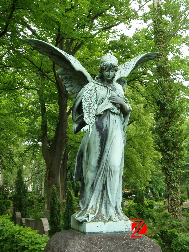 N'oublions pas nos chers anges-gardiens ! - Page 5 Bronze-large-winged-angel-statue-for-cemetery
