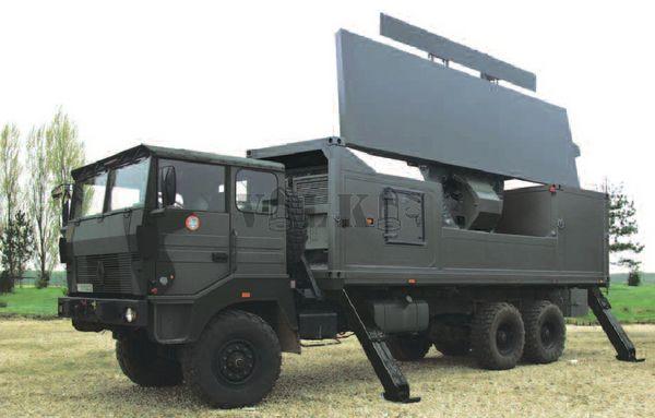GM403 - Ground Master 403 radar systems for Morocco/Radars GM403 pour le Maroc RLS_GM400-002-samohyb_bojova_poloha