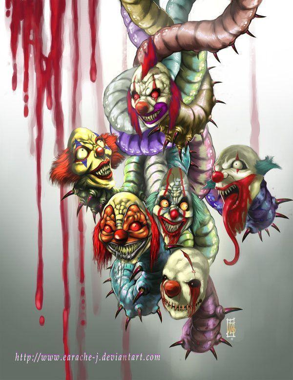 Les clowns maléfiques  0d2c6f37