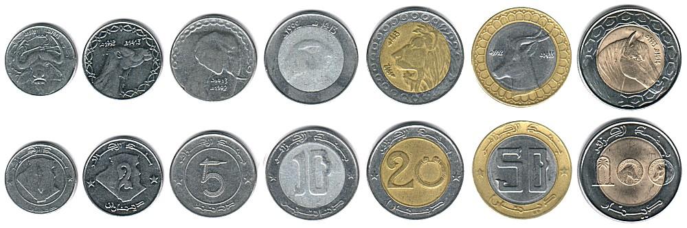 عملة الجزائر من الاستعمار الى يومنا هدا Algeria_money_coins