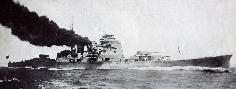 La bataille navale des îles Komandorski IJN_Heavy_Cruiser_Maya