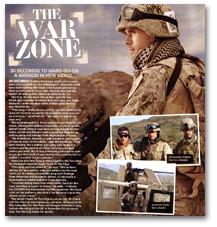THE WAR ZONE: KERRANG! MAGAZINE