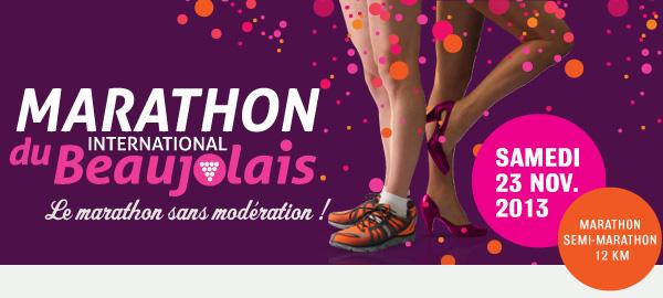 Le Marathon international du Beaujolais, samedi 23 novembre 2013 Tetiere