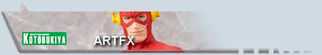 Marvel's Collections & Customs - DC Banniere-ARTFX-DC-koto