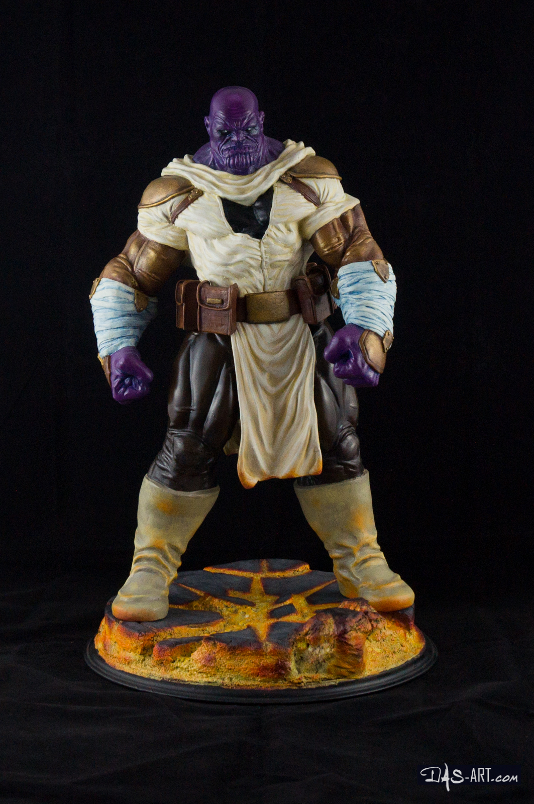 """19 - Thanos """"Annihilation"""" statue 20170710-Thanos_Annihilation-statue-sculpted_by_Thierry_Bellaghama-painted_by_Das-001"""