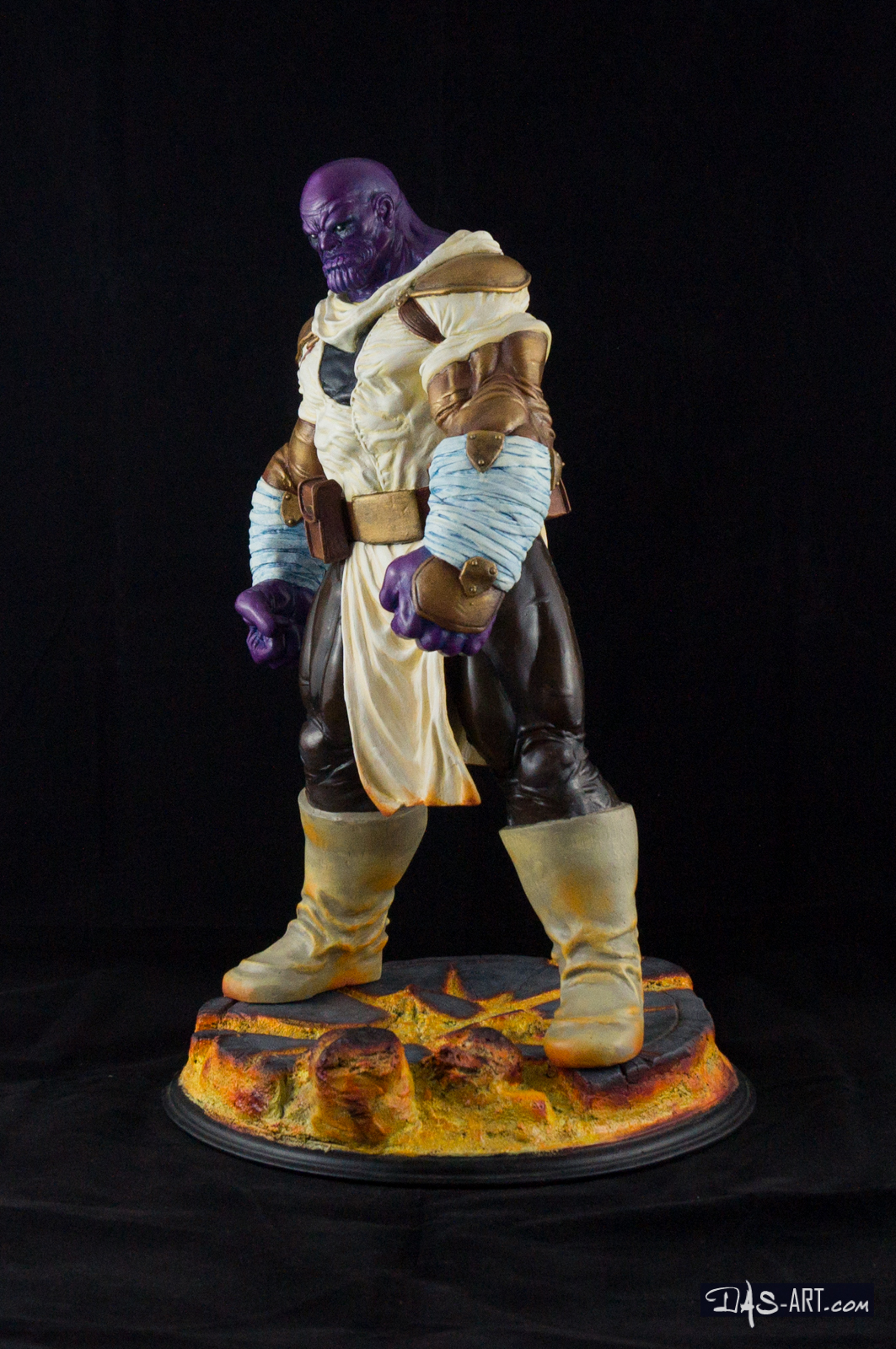 "19 - Thanos ""Annihilation"" statue 20170710-Thanos_Annihilation-statue-sculpted_by_Thierry_Bellaghama-painted_by_Das-002"