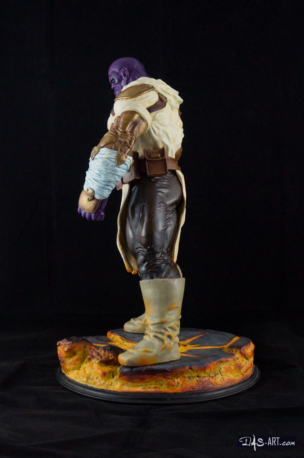 "19 - Thanos ""Annihilation"" statue 20170710-Thanos_Annihilation-statue-sculpted_by_Thierry_Bellaghama-painted_by_Das-003"