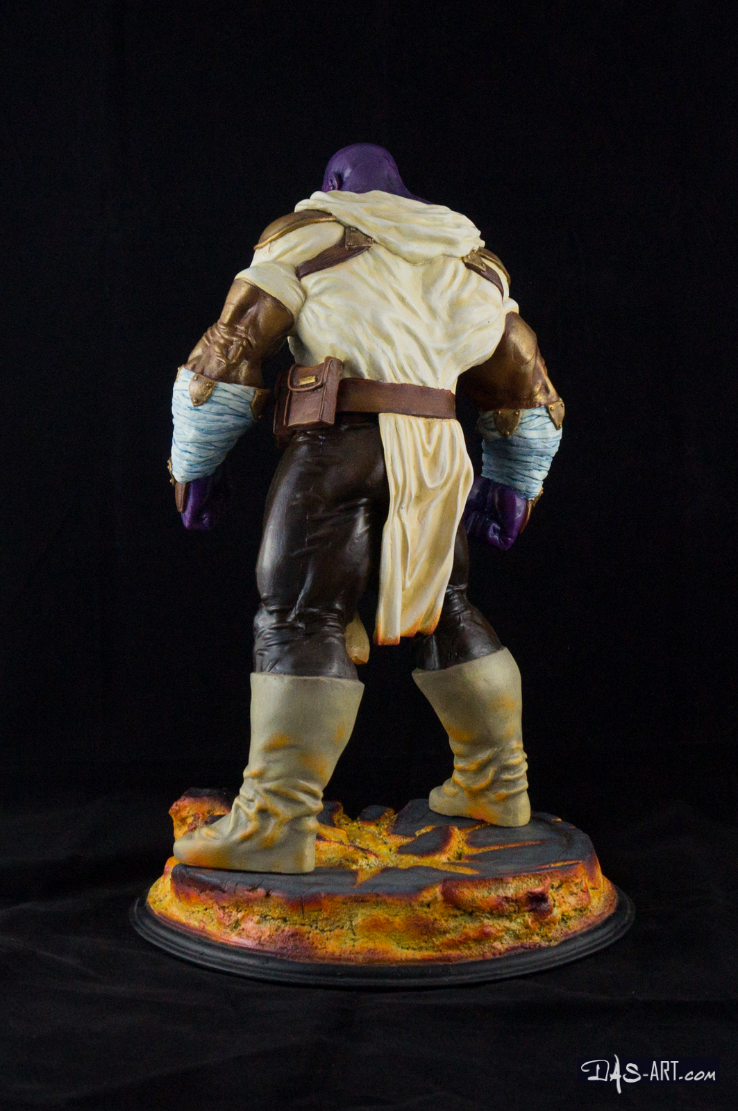 "19 - Thanos ""Annihilation"" statue 20170710-Thanos_Annihilation-statue-sculpted_by_Thierry_Bellaghama-painted_by_Das-004"