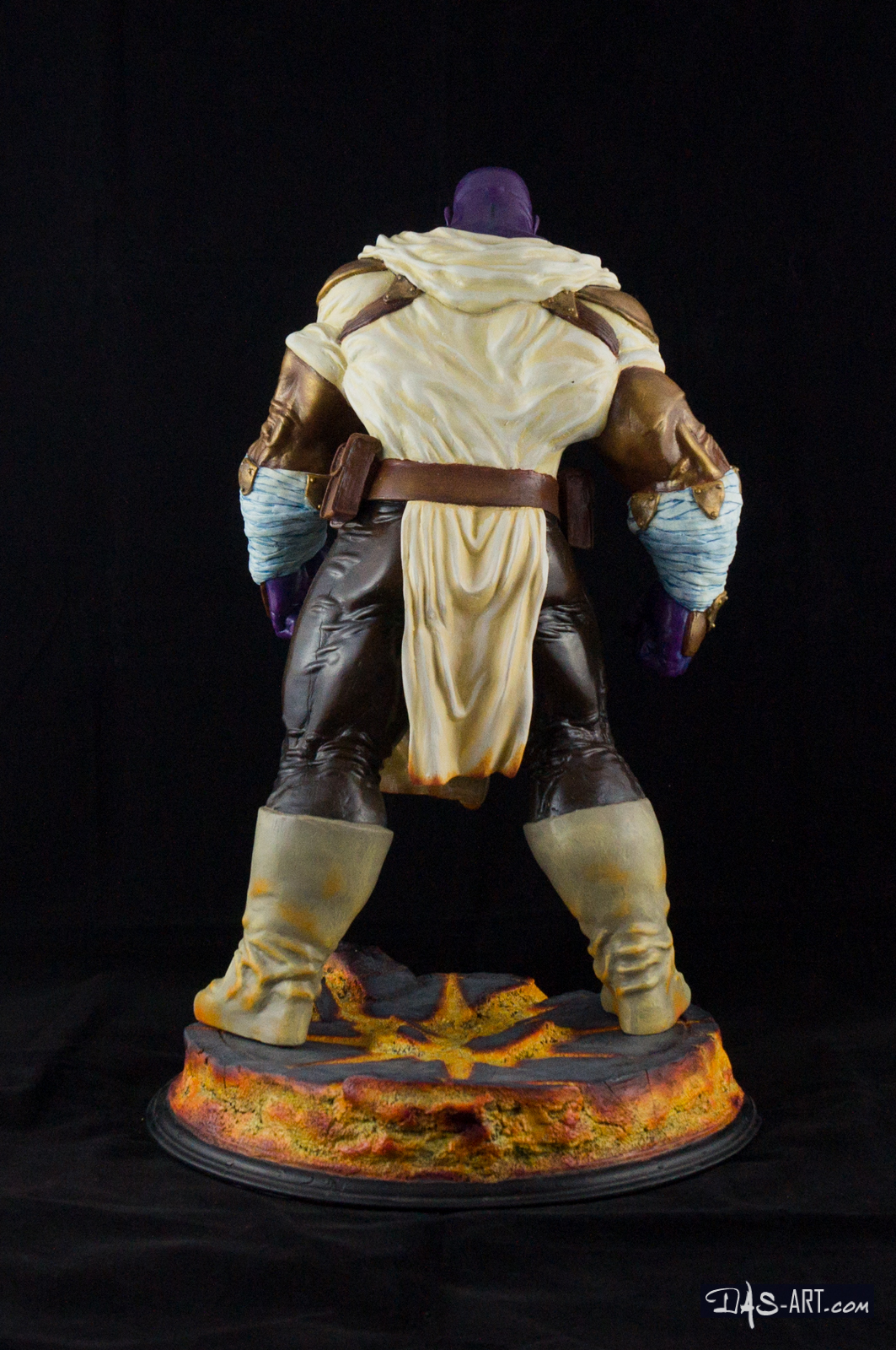 """19 - Thanos """"Annihilation"""" statue 20170710-Thanos_Annihilation-statue-sculpted_by_Thierry_Bellaghama-painted_by_Das-005"""