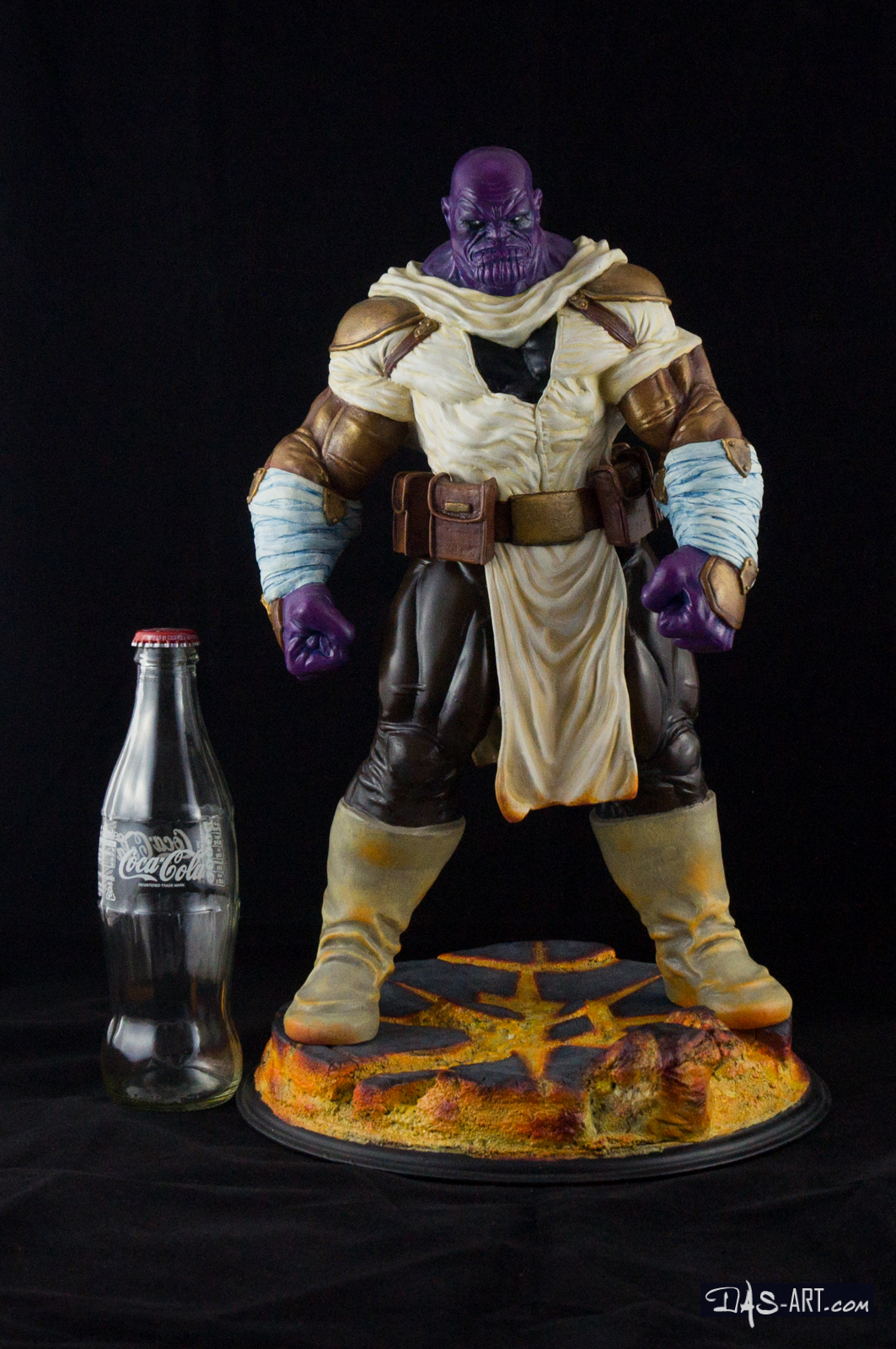"19 - Thanos ""Annihilation"" statue 20170710-Thanos_Annihilation-statue-sculpted_by_Thierry_Bellaghama-painted_by_Das-019"