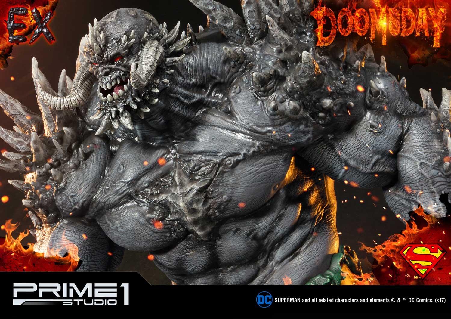 DC Comics - Doomsday - Museum Masterline 1/3 Statue   Mmdc-28_b04_ex