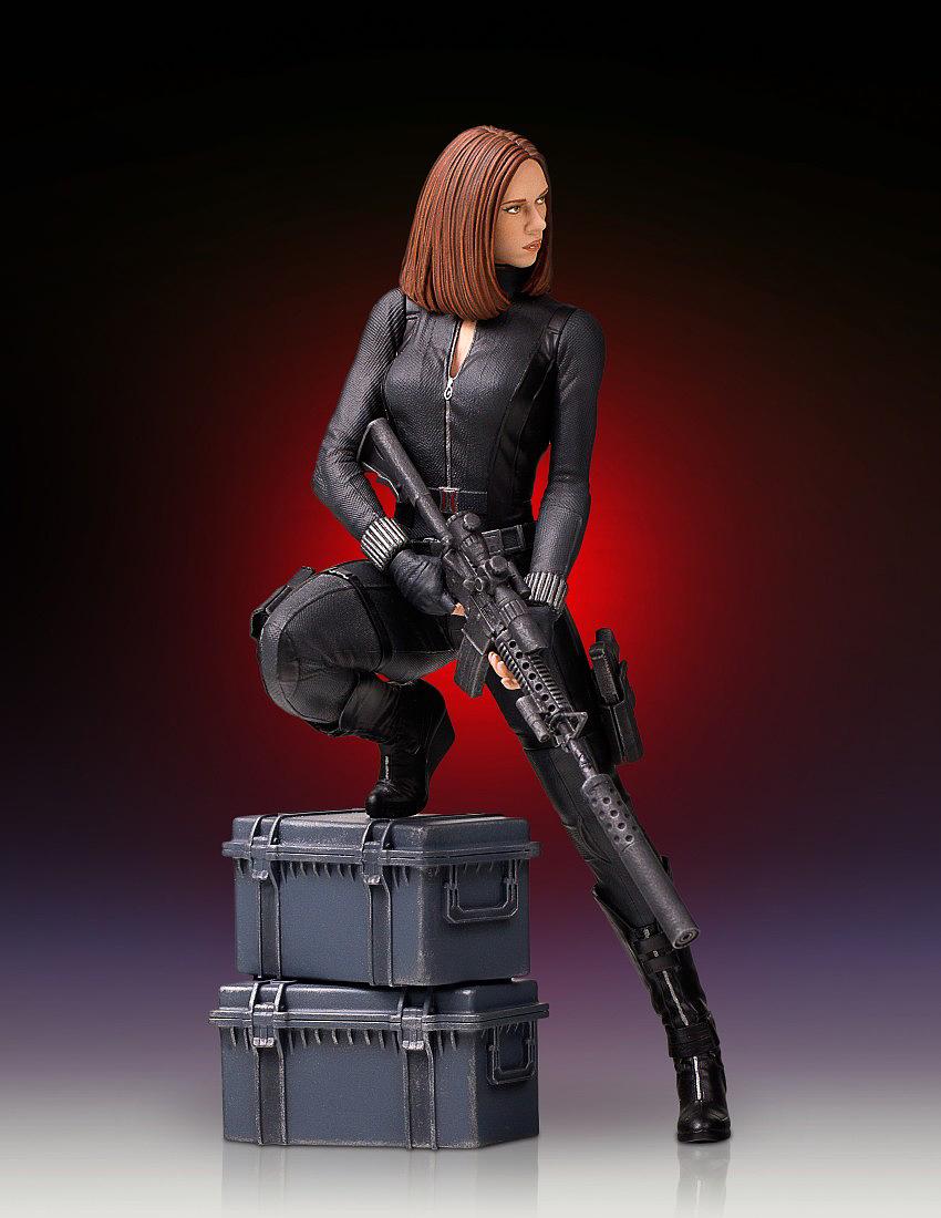 """BLACK WIDOW """"WINTER SOLDIER"""" 1/7 STATUE GENTLE GIANT Gentle-black-widow-statue-11"""