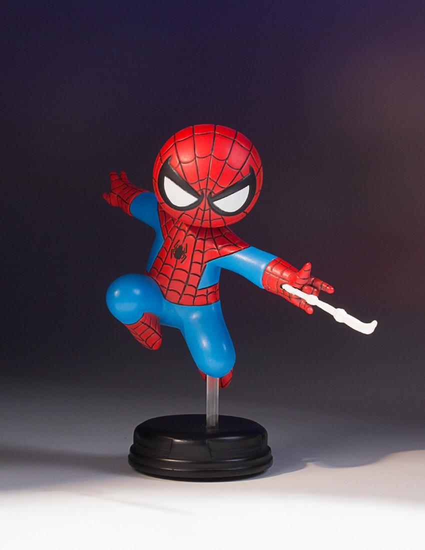 SPIDER-MAN SKOTTIE YOUNG STATUE SDCC 2017 EXCLUSIVE SDCC-2017-Exclusive-Spider-Man-Animated-Statue_02