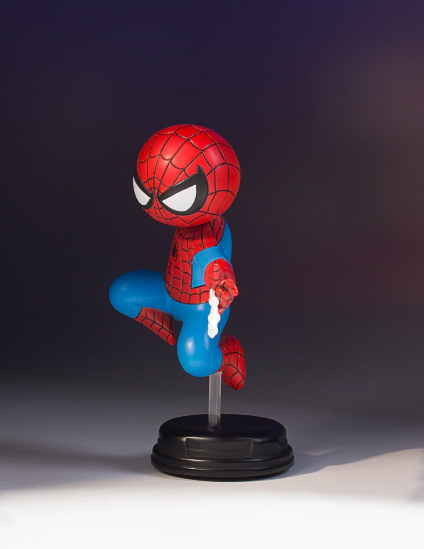 SPIDER-MAN SKOTTIE YOUNG STATUE SDCC 2017 EXCLUSIVE SDCC-2017-Exclusive-Spider-Man-Animated-Statue_03