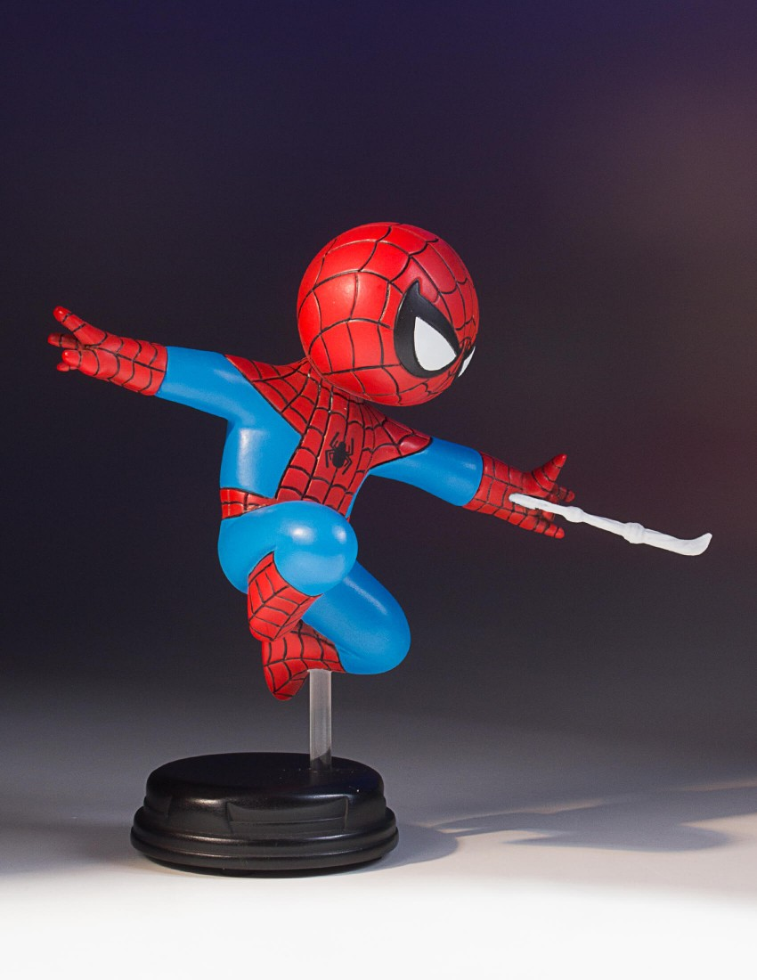 SPIDER-MAN SKOTTIE YOUNG STATUE SDCC 2017 EXCLUSIVE SDCC-2017-Exclusive-Spider-Man-Animated-Statue_08