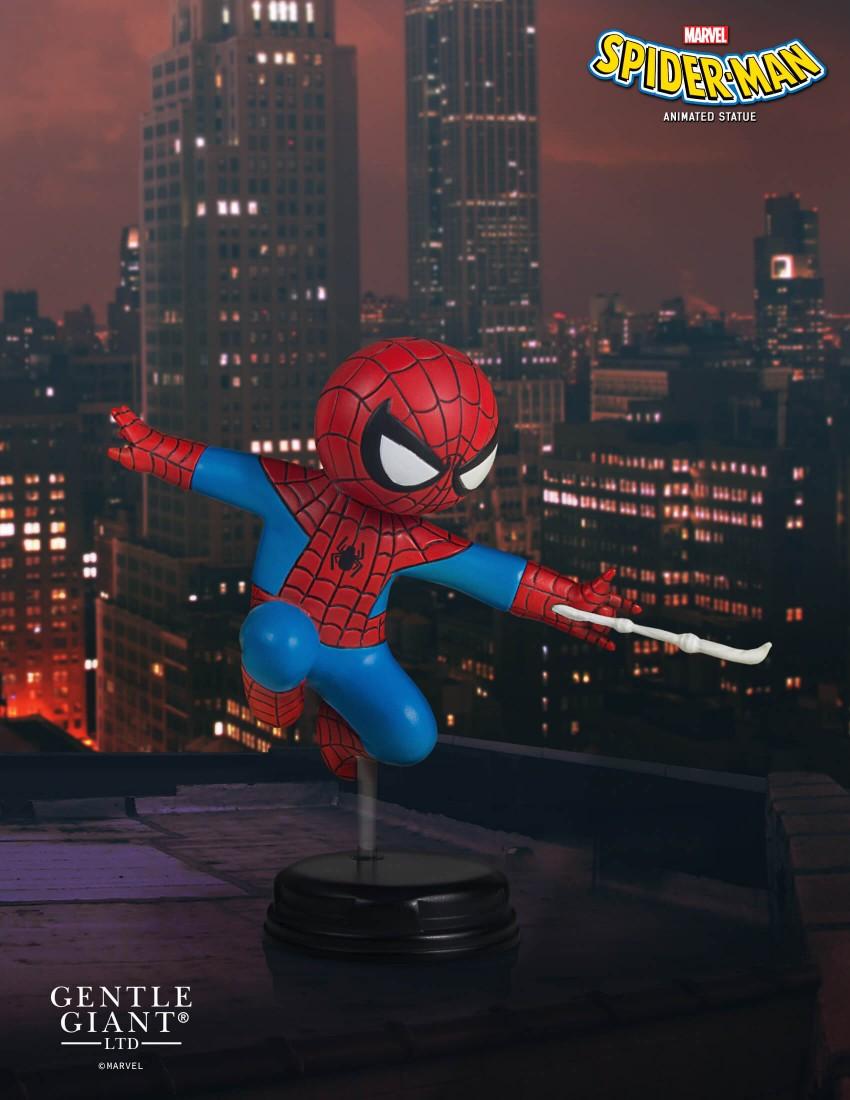 SPIDER-MAN SKOTTIE YOUNG STATUE SDCC 2017 EXCLUSIVE SDCC-2017-Exclusive-Spider-Man-Animated-Statue_09