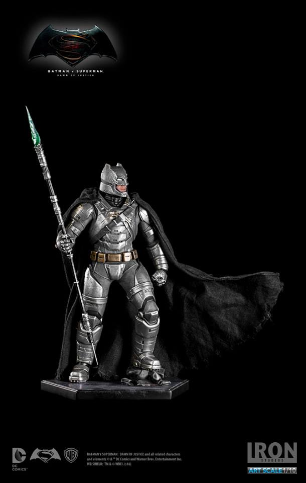 IRON STUDIOS: BATMAN ARMOR DAWN OF JUSTICE Art scale 1/10 Batman-battle-dammage-BvsS-art-scale-iron-studios-09
