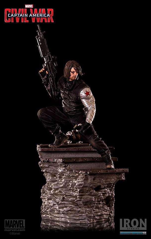 IRON STUDIOS: WINTER SOLDIER CIVIL WAR LEGACY 1/4 SCALE Iron-studios-winter-soldier-legacy-21