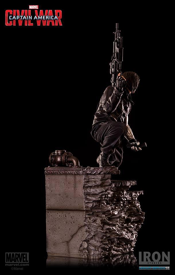 IRON STUDIOS: WINTER SOLDIER CIVIL WAR LEGACY 1/4 SCALE Iron-studios-winter-soldier-legacy-23