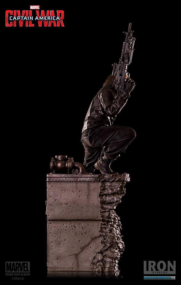 IRON STUDIOS: WINTER SOLDIER CIVIL WAR LEGACY 1/4 SCALE Iron-studios-winter-soldier-legacy-25