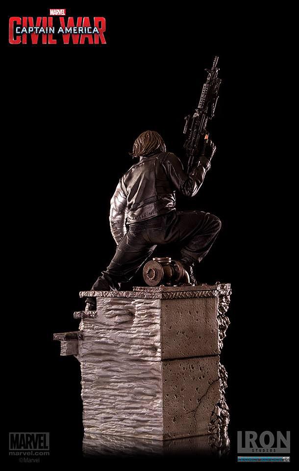 IRON STUDIOS: WINTER SOLDIER CIVIL WAR LEGACY 1/4 SCALE Iron-studios-winter-soldier-legacy-26