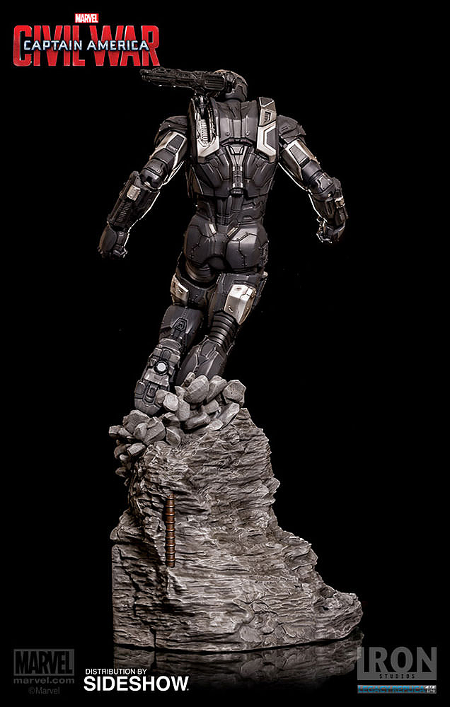 IRON STUDIOS: WAR MACHINE CIVIL WAR LEGACY 1/4 SCALE Civil-war-war-machine-polystone-statue-iron-studios-06