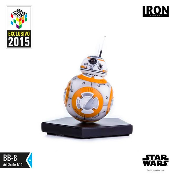 IRON STUDIOS: BB-8 Exclusive CCXP 2015 art scale 1/10  Iron-studios-BB-8-art-scale-01