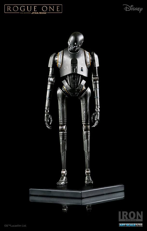 IRON STUDIOS: ROGUE ONE K2-So art scale 1/10  Iron-studios-K2-so-art-scale-05