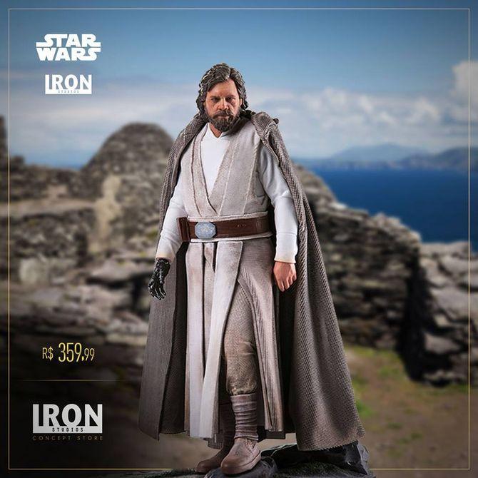 IRON STUDIOS: LUKE Episode VII Art scale 1/10 Iron-studios-Luke-art-scale-01