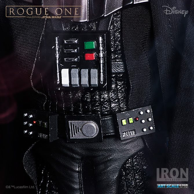 IRON STUDIOS: ROGUE ONE DARTH VADER  art scale 1/10  Iron-studios-darth-vader-rogue-one-art-scale-09