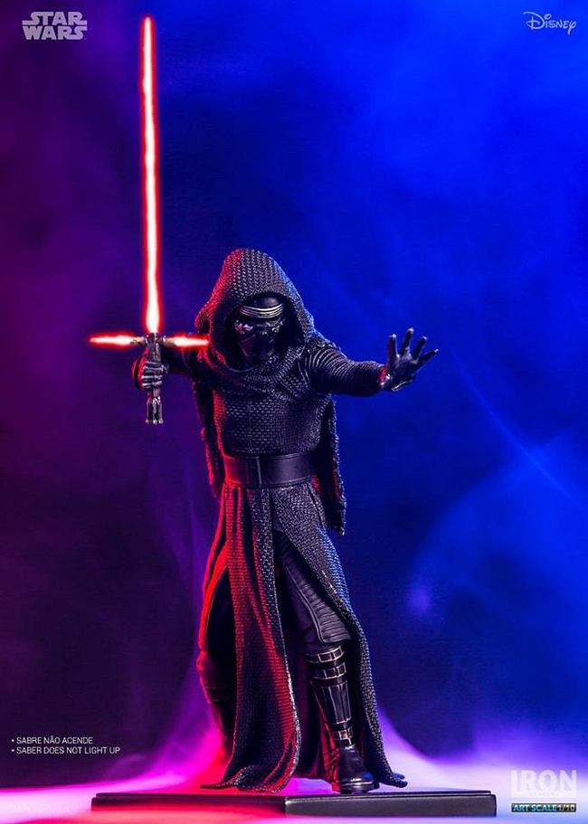 IRON STUDIOS: KYLO REN art scale 1/10 Kylo-Ren-Iron-studios-01