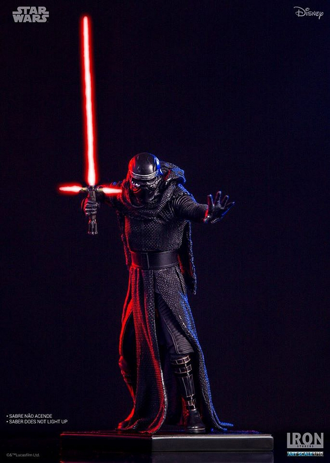 IRON STUDIOS: KYLO REN art scale 1/10 Kylo-Ren-Iron-studios-04