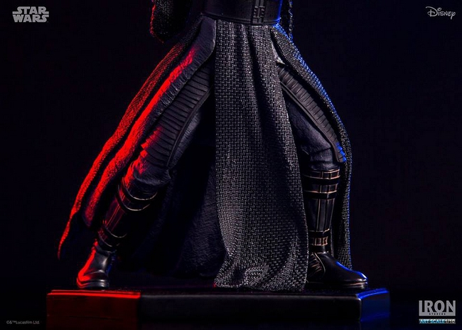 IRON STUDIOS: KYLO REN art scale 1/10 Kylo-Ren-Iron-studios-07