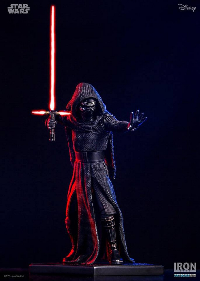 IRON STUDIOS: KYLO REN art scale 1/10 Kylo-Ren-Iron-studios-09