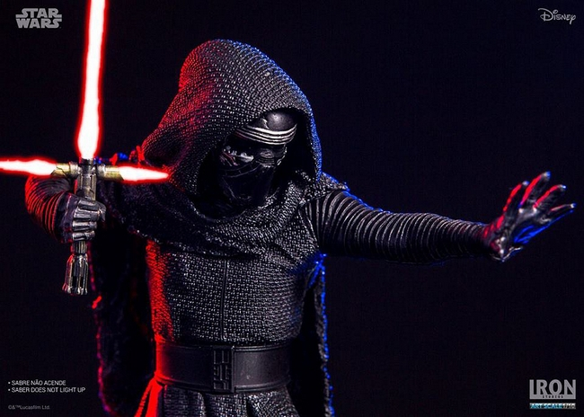IRON STUDIOS: KYLO REN art scale 1/10 Kylo-Ren-Iron-studios-10