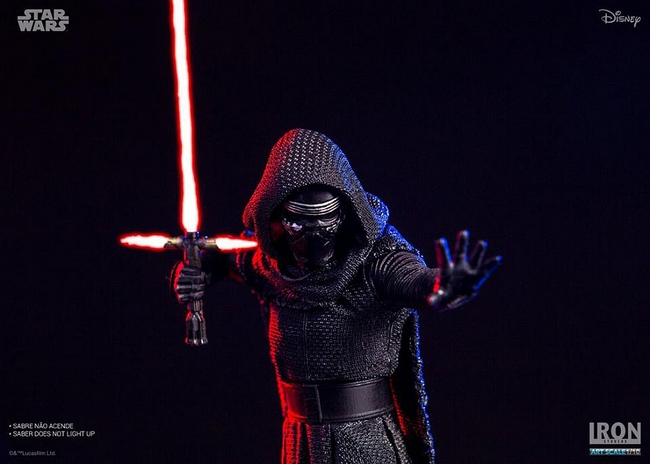 IRON STUDIOS: KYLO REN art scale 1/10 Kylo-Ren-Iron-studios-11