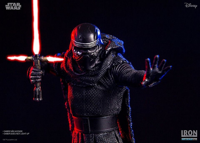 IRON STUDIOS: KYLO REN art scale 1/10 Kylo-Ren-Iron-studios-12