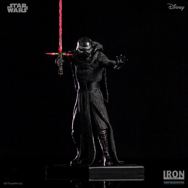 IRON STUDIOS: KYLO REN art scale 1/10 Kylo-Ren-Iron-studios-13